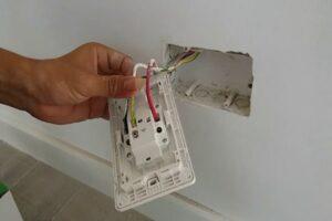 Sửa công tắc điện