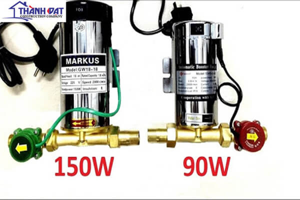 Lắp đặt máy bơm tăng áp nước nóng lạnh chất lượng cao