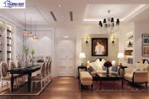 Thiết kế nội thất mang phong cách Châu Âu